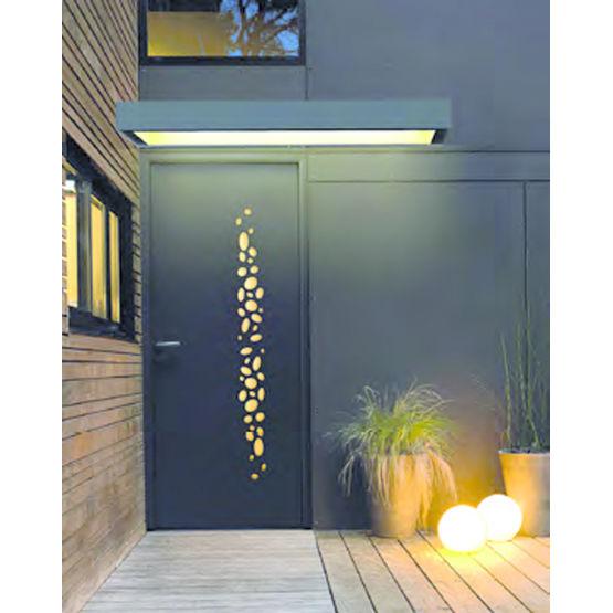 marquise avec clairage en d tection automatique. Black Bedroom Furniture Sets. Home Design Ideas