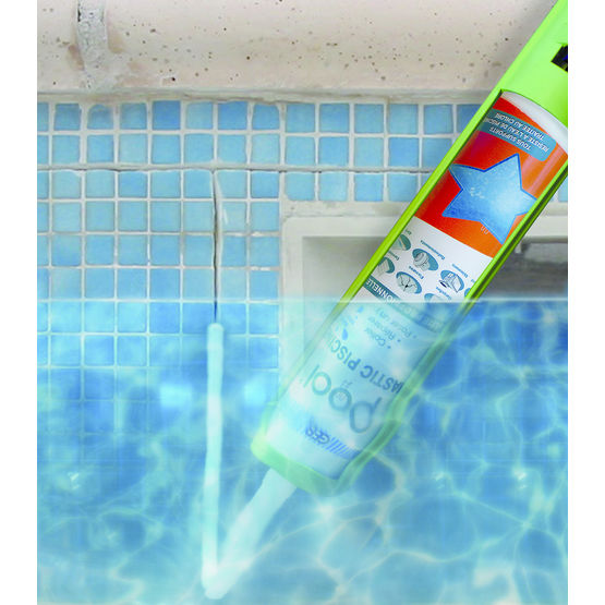 Mastic pour piscine applicable sous l 39 eau geb for Joint liner piscine