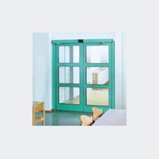 m canisme d 39 ouverture automatique pour portes battantes simple action geze. Black Bedroom Furniture Sets. Home Design Ideas