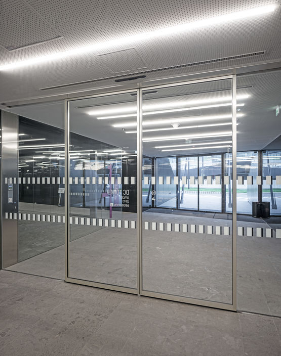 Mcanisme Invisible Pour Porte Coulissante Automatique  Grands