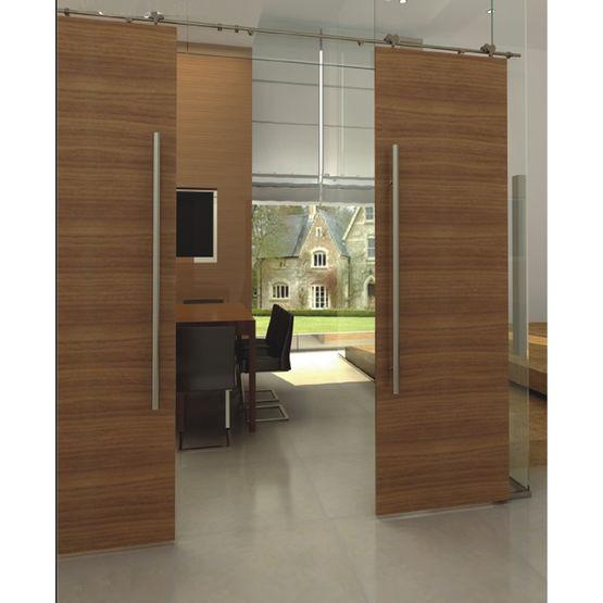 M canisme pour porte coulissante bois suspendue alliage - Systeme coulissant porte interieure ...
