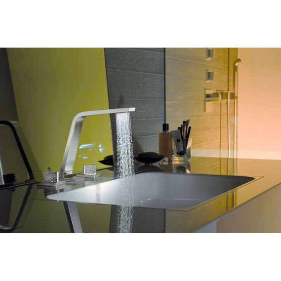 m langeur ou mitigeur contemporain pour salle de bain dornbracht. Black Bedroom Furniture Sets. Home Design Ideas