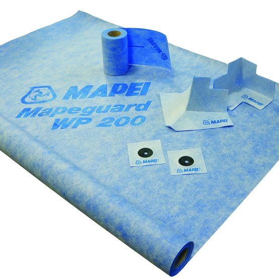 Membrane d 39 tanch it l 39 eau sous carrelage scell ou coll for Etancheite sous carrelage
