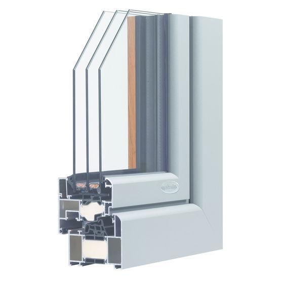 menuiserie ext rieure en aluminium dormant de 72 ou 82 mm d paisseur a 39 line alud al. Black Bedroom Furniture Sets. Home Design Ideas