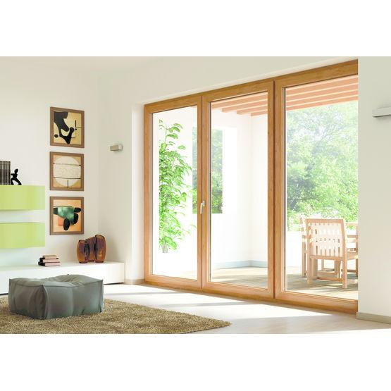 menuiserie ext rieure en pvc d cors bois charme color full oknoplast. Black Bedroom Furniture Sets. Home Design Ideas