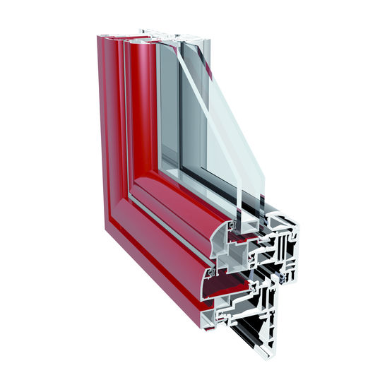 Menuiseries mixtes pvc alu double ou triple vitrage for Fenetre triple vitrage aluminium