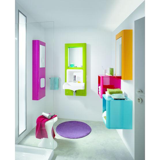 Meuble vasque int gr e pour espace r duit m2 d cotec - Meuble espace reduit ...