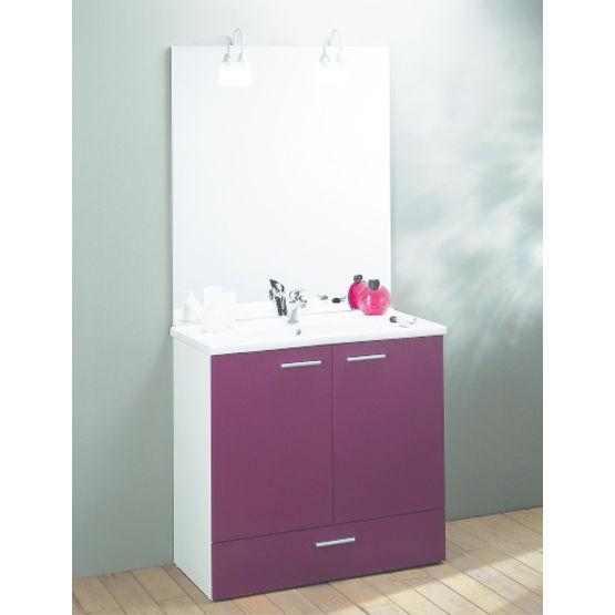 meuble avec plan vasque pour salle de bains dispo sanijura. Black Bedroom Furniture Sets. Home Design Ideas