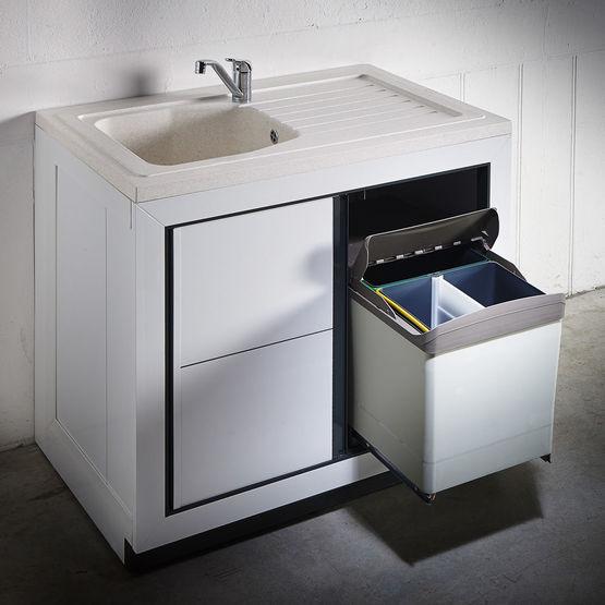 Vend e normandie meuble de cuisine pour vier poser for Meuble cuisine 120x60