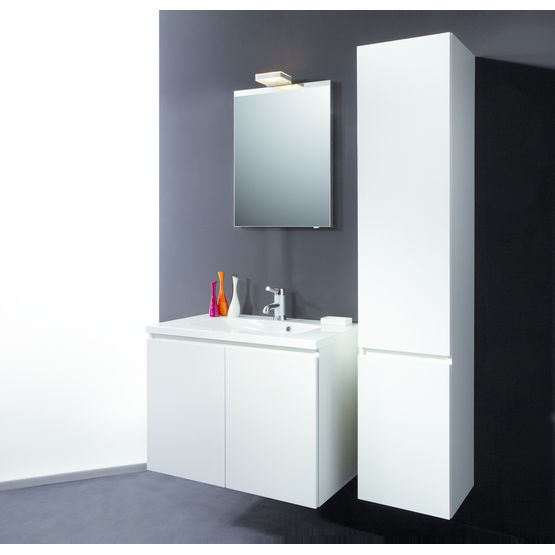 meuble de salle de bain blanc ou c rus detremmerie. Black Bedroom Furniture Sets. Home Design Ideas