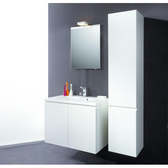 meuble de salle de bain blanc ou c rus dox detremmerie. Black Bedroom Furniture Sets. Home Design Ideas