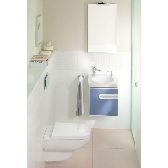 Simple meuble de salle de bains plan vasque intgr joyce Reuter salle de bain