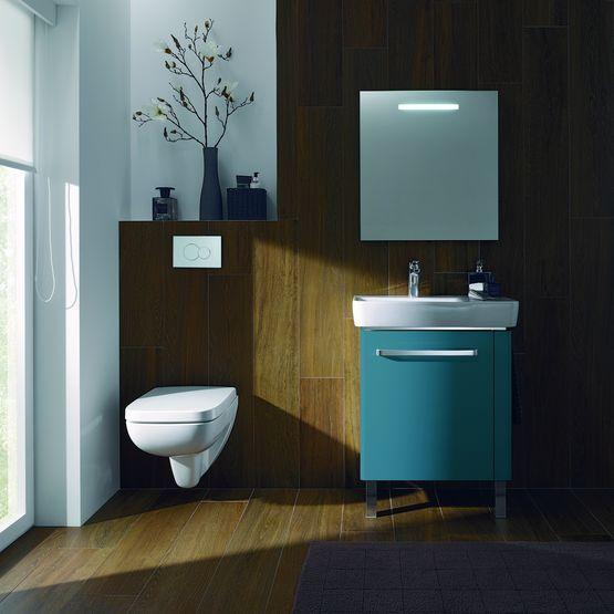 meuble pour plan de toilette en 2 coloris allia. Black Bedroom Furniture Sets. Home Design Ideas