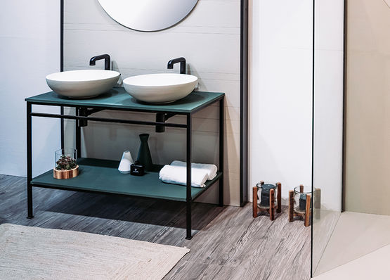 Meuble pour salle de bain | INTEGRA AU SOL
