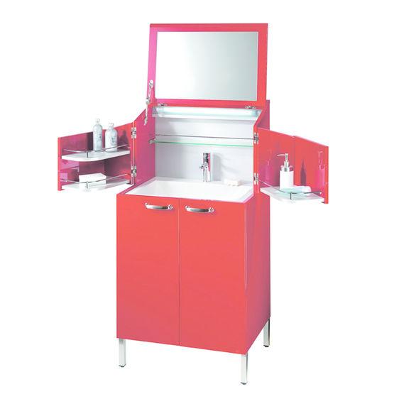 meuble pour salle de bains de type coiffeuse la malle des indes d cotec. Black Bedroom Furniture Sets. Home Design Ideas