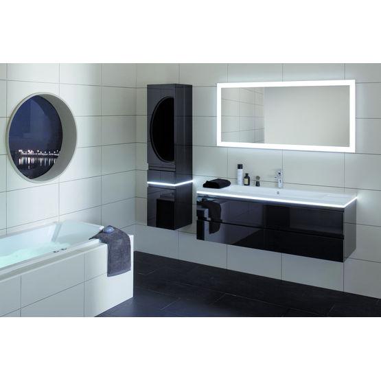 meuble suspendu sous vasque jusqu 39 140 cm de largeur sanijura. Black Bedroom Furniture Sets. Home Design Ideas