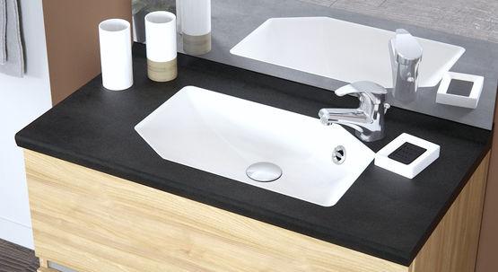Meuble vasque à profondeur réduite pour petites salles de bain | Smart  portes