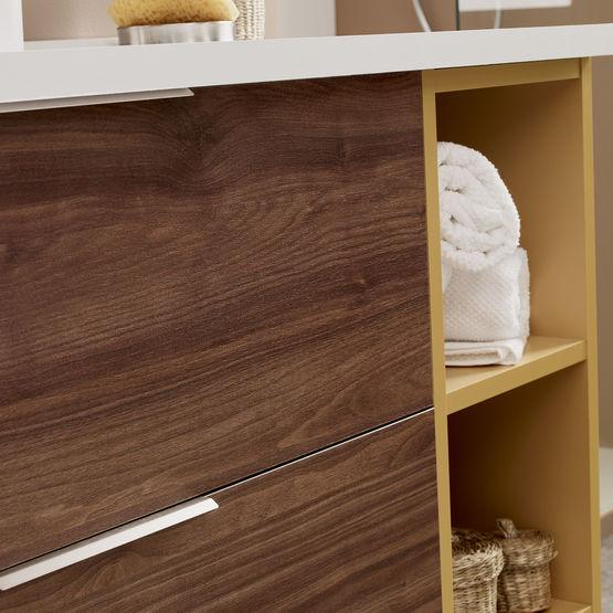 Infiniti meuble vasque de salle de bain tiroirs for Ou acheter des meubles de salle de bain