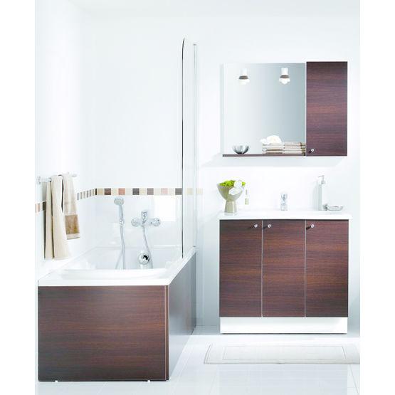 meubles avec plan vasque en c ramique proceram delpha. Black Bedroom Furniture Sets. Home Design Ideas