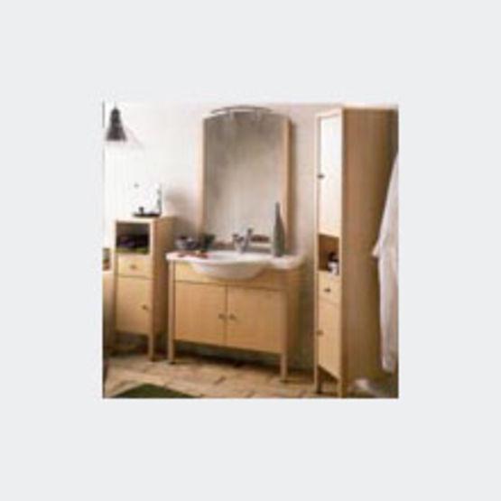 meubles de salle de bains plaqu s rable phidia allia. Black Bedroom Furniture Sets. Home Design Ideas