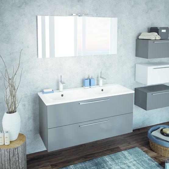 meubles suspendus composer akido ambiance bain. Black Bedroom Furniture Sets. Home Design Ideas