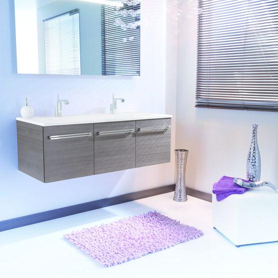 meubles suspendus pour salle de bain mika ambiance bain. Black Bedroom Furniture Sets. Home Design Ideas