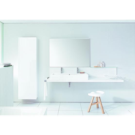 meubles suspendus pour salles de bains en bois naturel ou laqu delos duravit. Black Bedroom Furniture Sets. Home Design Ideas