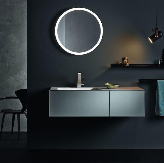 Miroirs salle de bain design en aluminium avec clairage led - Eclairage salle de bain design ...
