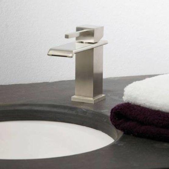 Mitigeur de lavabo à bec cascade | ZEN SQUARE - MARGOT MRF