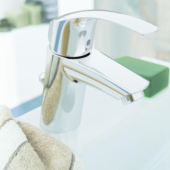 Mitigeur monocommande pour lavabo mitigeur eurosmart - Mitigeur lavabo grohe eurosmart ...