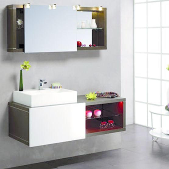 Mobilier pour salle de bains avec vasque | Swing