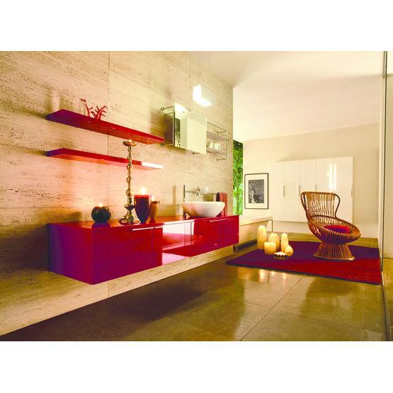 Mobilier pour salle de bains en quatre gammes progetto for Mobilier pour salle de bain