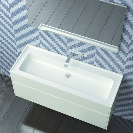mobilier sous vasque aux multiples habillages 120piu stocco. Black Bedroom Furniture Sets. Home Design Ideas