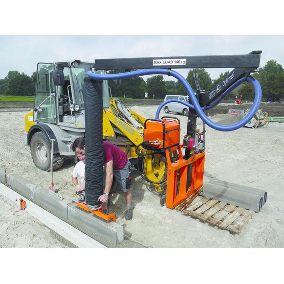 Module pour transport et pose d 39 l ments de voirie et blocs de constructi - Module de construction ...