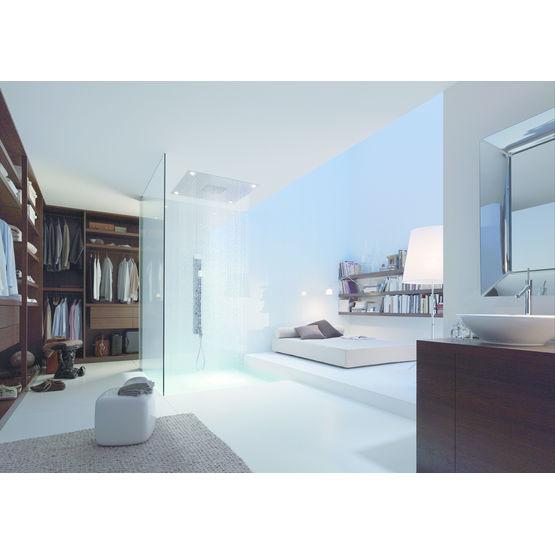 modules de douche et robinetterie combinables sur mesure axor starck shower hansgrohe. Black Bedroom Furniture Sets. Home Design Ideas