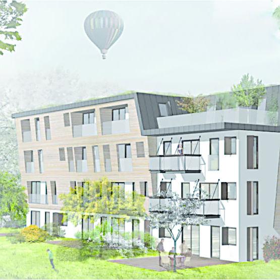 modules en bois pour logement collectif petit collectif tout bois ossabois. Black Bedroom Furniture Sets. Home Design Ideas