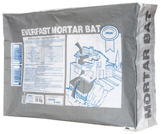 Mortier de ragréage 0,5 à 12 mm | Everfast Mortar BAT HP