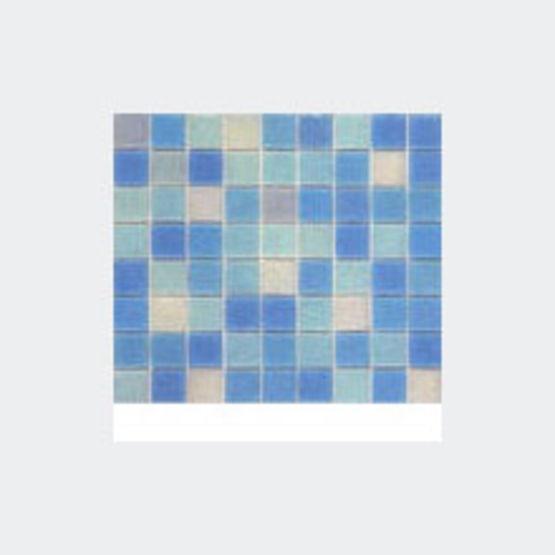 Mosaïque en six coloris | Turquoise - Opiocolor