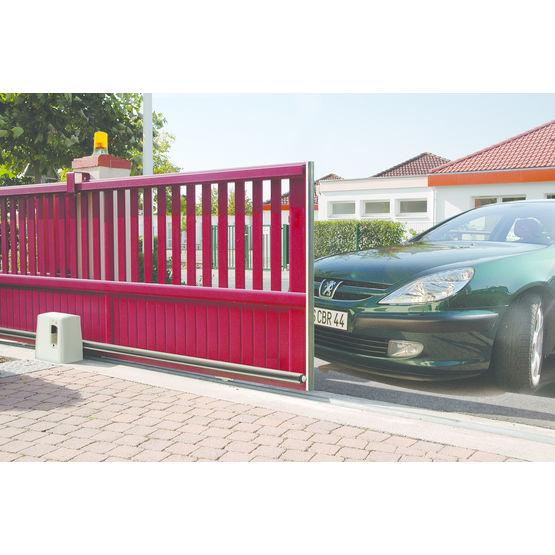 motorisation courroie crant e pour portail coulissant novogate novoferm habitat. Black Bedroom Furniture Sets. Home Design Ideas