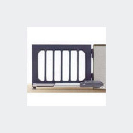motorisation pour portail battant jusqu 39 4 m de longueur par vantail tubauto. Black Bedroom Furniture Sets. Home Design Ideas
