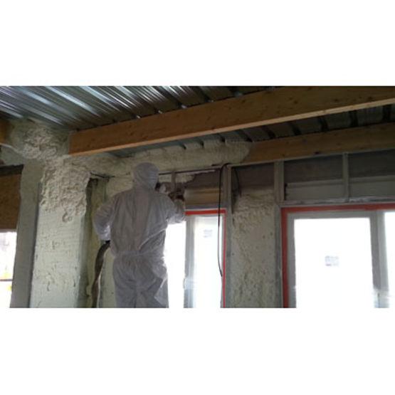 mousse polyur thane projet e pour isolation thermique et acoustique tecnopol. Black Bedroom Furniture Sets. Home Design Ideas