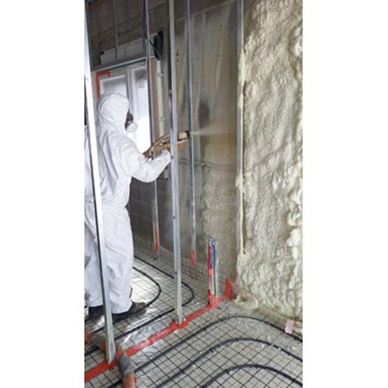 Mousse polyur thane projet e pour isolation thermique et for Isolation exterieur mousse polyurethane