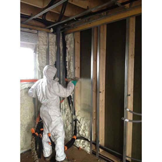 mousse polyur thane projet e pour isolation thermique et acoustique tecnofoam g 2008 tecnopol. Black Bedroom Furniture Sets. Home Design Ideas