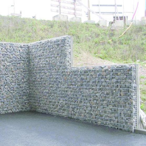 Mur b ton parement gabion chapsol - Materiel pour peindre un mur ...