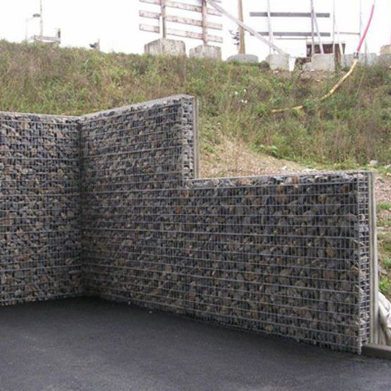 mur b ton parement gabion chapsol. Black Bedroom Furniture Sets. Home Design Ideas