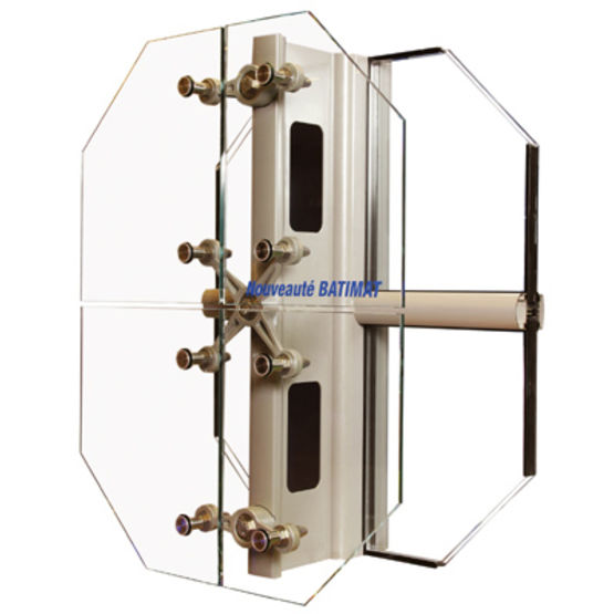 mur rideau et verri re aluminium de grandes dimensions mur rideau fa ade trusswall kawneer. Black Bedroom Furniture Sets. Home Design Ideas