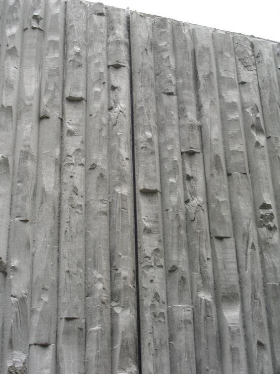 Maison bleue murs de fa ade en b ton arm batiproduits - Produit nettoyage facade maison ...