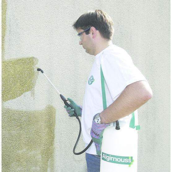 Nettoyant pour fa ade encrass e par la pollution - Produit nettoyage facade maison ...