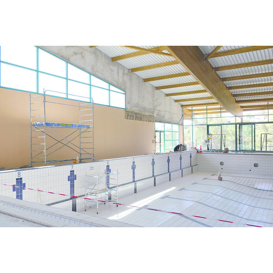 Ossature m tallique pour plafonds de locaux humides siniat - Ossature metallique pour faux plafond ...
