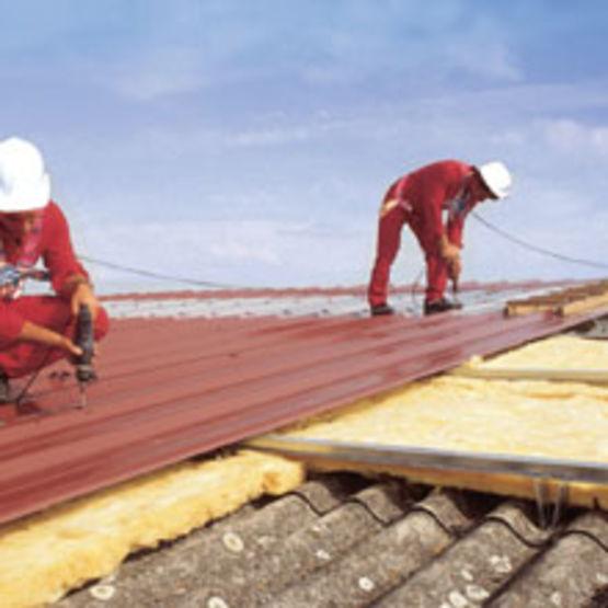 Ossature secondaire sur couverture existante surtoiture f no faynot - Etancheite toiture tole fibro ciment ...